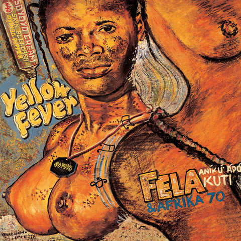 Fela Kuti and Afrika 70 Yellow Fever LP 0720841206019