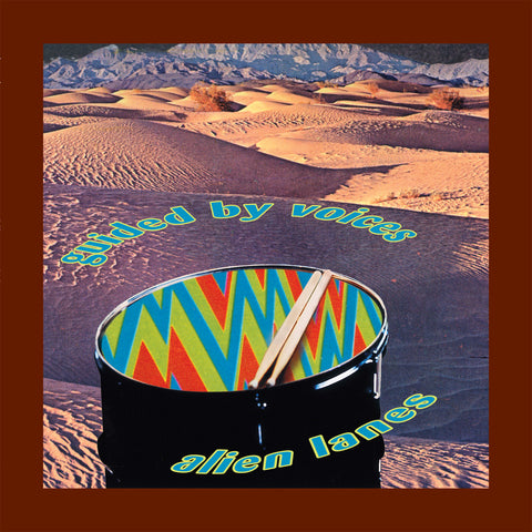 Guided By Voices Alien Lanes Limited LP 744861012399
