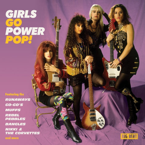 GIRLS GO POWER POP!