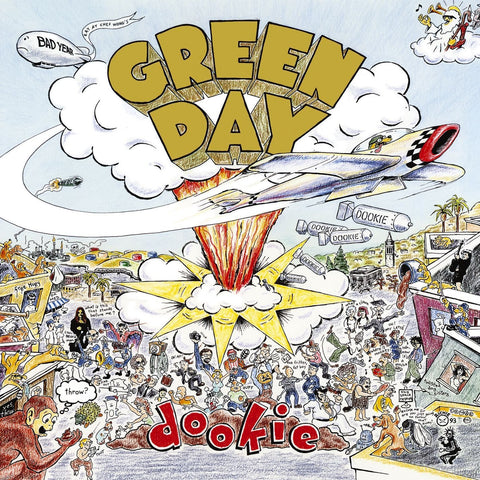 Green Day Dookie LP 093624986959 Worldwide Shipping