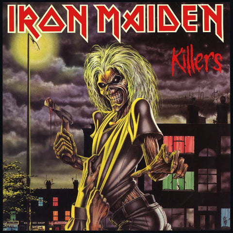 Iron Maiden Killers LP 825646252428 Worldwide Shipping