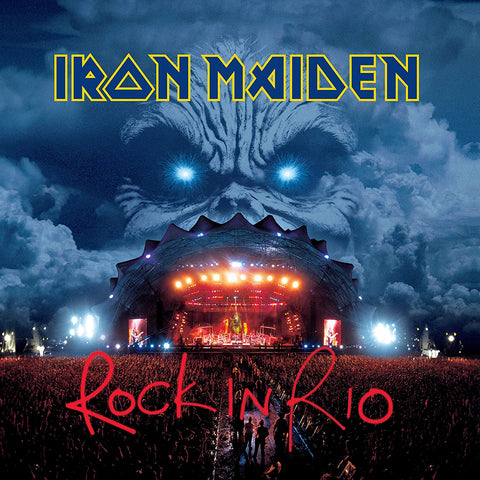 Iron Maiden Rock In Rio 2CD 0190295345044 Worldwide Shipping