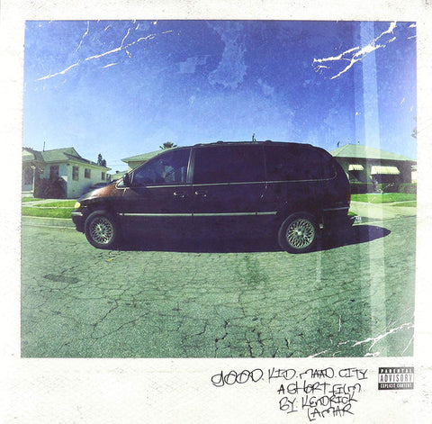 Kendrick Lamar Good Kid M.A.A.D City 2LP 602537192267