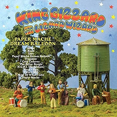 King Gizzard & The Lizard Wizard Paper Mache Dream Balloon