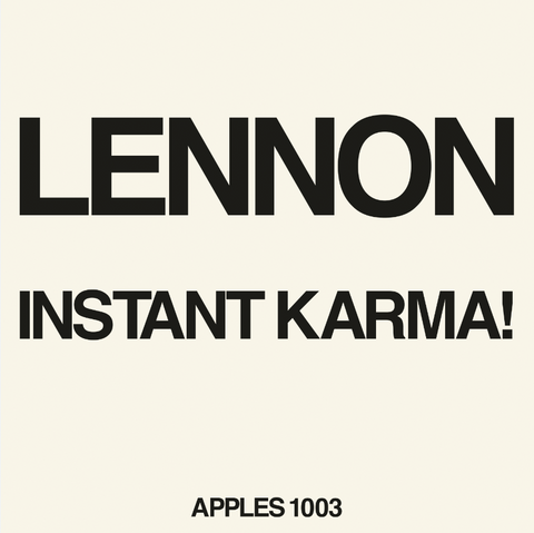 Instant Karma! (2020 Ultimate Mixes) (RSD Aug 29th)