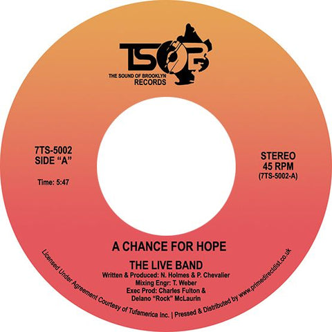 A Chance For Hope (RSD Sept 26th)