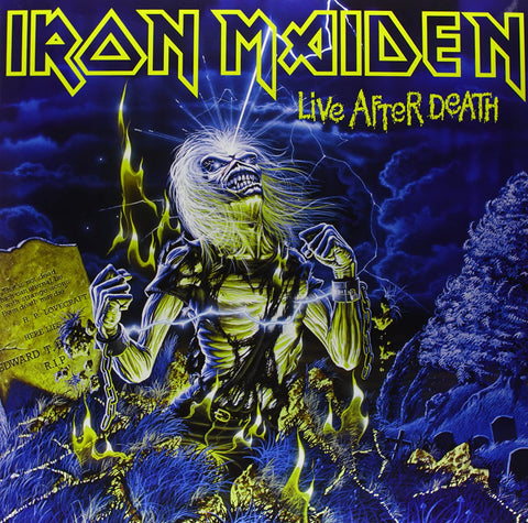 Iron Maiden Live After Death 0190295345051 Worldwide