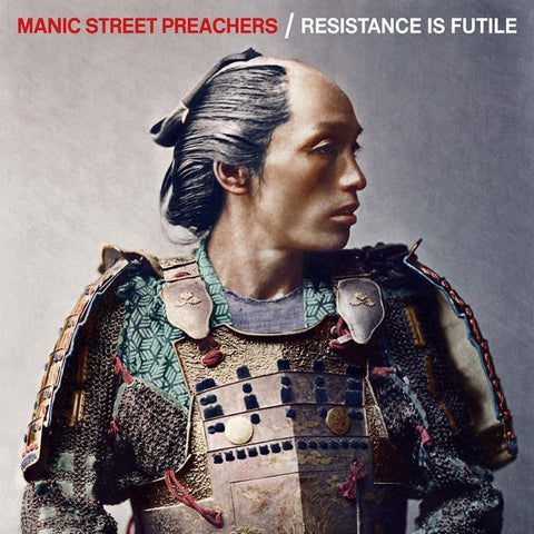 Manic Street Preachers Resistance Is Futile Limited LP+CD