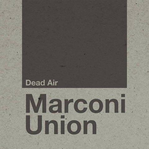 Marconi Union Dead Air 0677603018123 Worldwide Shipping