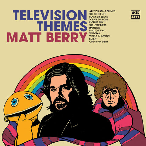 Matt Berry TV Themes (LRS20) Limited LP Worldwide Shipping