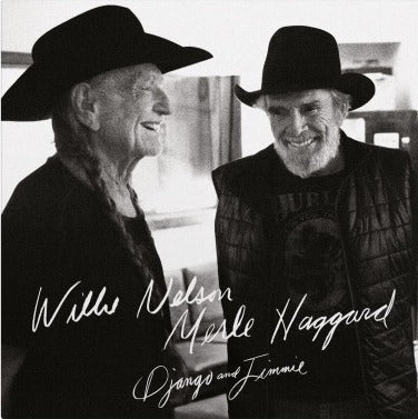 Willie Nelson & Merle Haggard DJANGO AND JIMMIE Limited 2LP