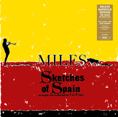 Miles Davis Sketches Of Spain LP 0889397217891 Worldwide