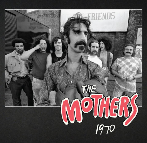 Frank Zappa The Mothers 1970 4CD 0824302003329 Worldwide