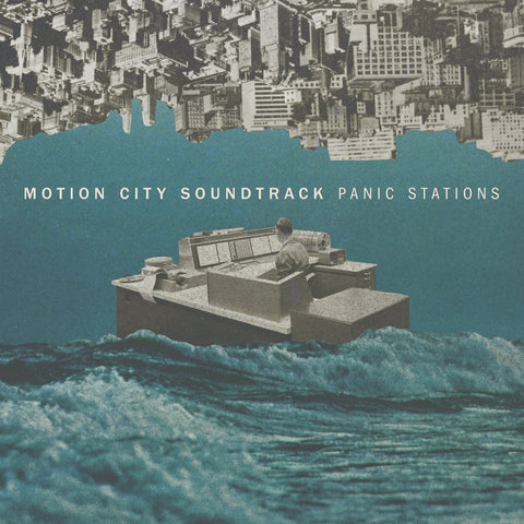 Motion City Soundtrack Panic Stations LP 045778737413