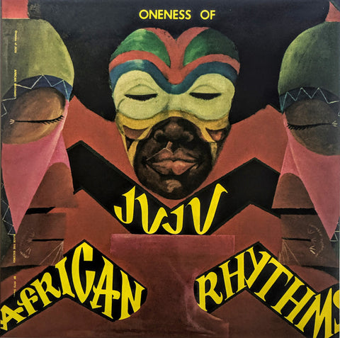 Oneness Of Juju African Rhythms LP 0659457517915 Worldwide