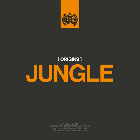 Various Artists Origins Of Jungle 2LP Worldwide Shipping