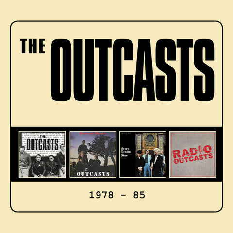 The Outcasts 1978-85 3CD 5013929607200 Worldwide Shipping