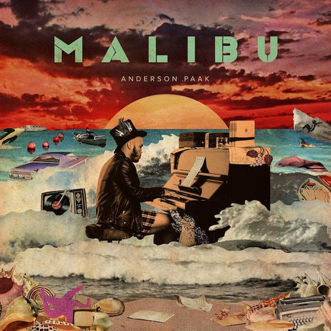 Anderson.Paak Malibu 2LP 885150342237 Worldwide Shipping