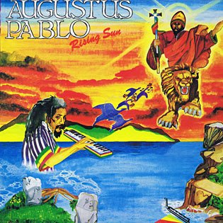 Augustus Pablo Rising Sun LP 0601811009017 Worldwide