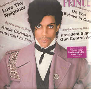 Prince Controversy LP 081227977764 Worldwide Shipping
