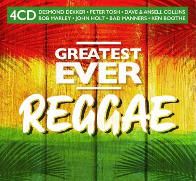 Various Artists GREATEST EVER REGGAE 4CD 4050538623420