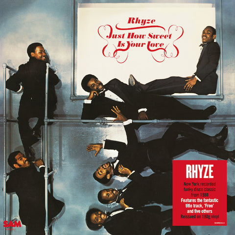 Rhyze Just How Sweet Is Your Love LP 5014797901766 Worldwide
