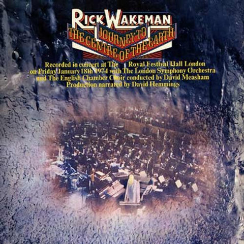 Rick Wakeman Journey To The Centre Of The Earth LP