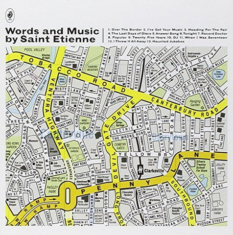 Saint Etienne Words & Music (LRS20) Limited LP 5400863027339