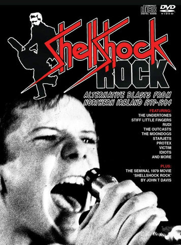 Shellshock Rock: Alternative Blasts From Northern Ireland 1977-1984, Various Artists, 3CD / 1DVD