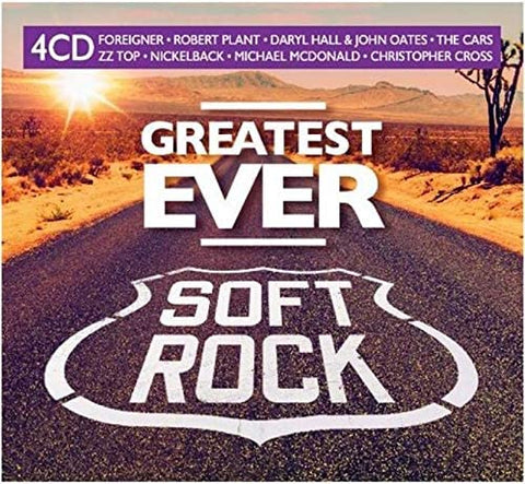 Various Artists Greatest Ever Soft Rock 4CD 4050538603620