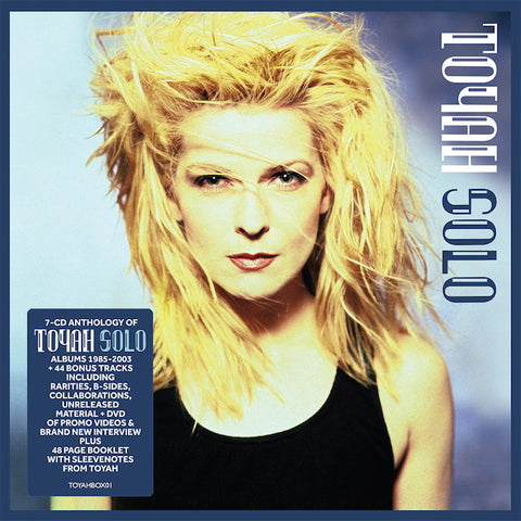 Toyah Solo 8CD 5014797901995 Worldwide Shipping