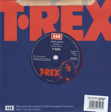 T. Rex Hot Love Limited 7 / Red Vinyl 5060446072431