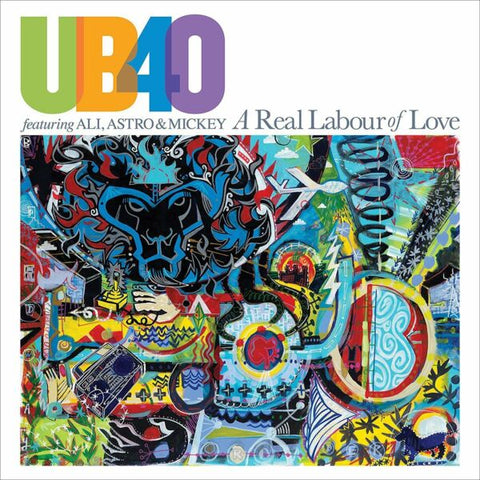 UB40 ft Ali Astro & Mickey A Real Labour Of Love Limited 2LP