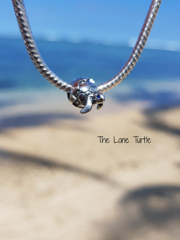 Hatchling Turtle Charm Bead