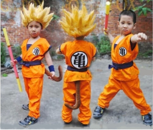 Cosplay Dragon Ball Z Enfat de Son Goku