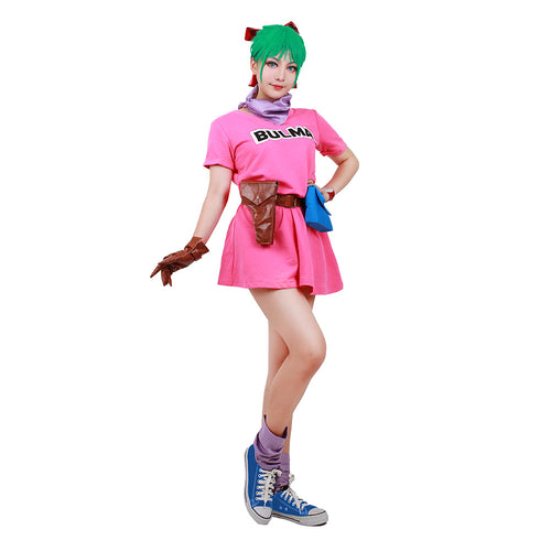 Cosplay Dragon Ball Z de Bulma