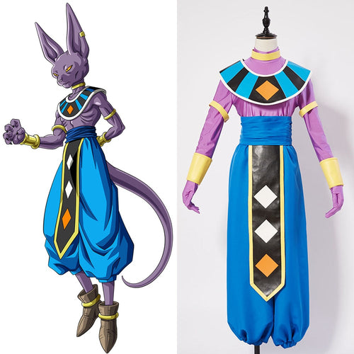 Cosplay Dragon Ball Super de Beerus