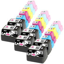 Laden Sie das Bild in den Galerie-Viewer, INK INSPIRATION® Replacement for HP 363 Ink Cartridges 21-Pack, Use with HP Photosmart C7280 C8180 C5180 C6180 C6280 C7180 3310 3210 3110 8250 D6160 D7160 D7260 D7460
