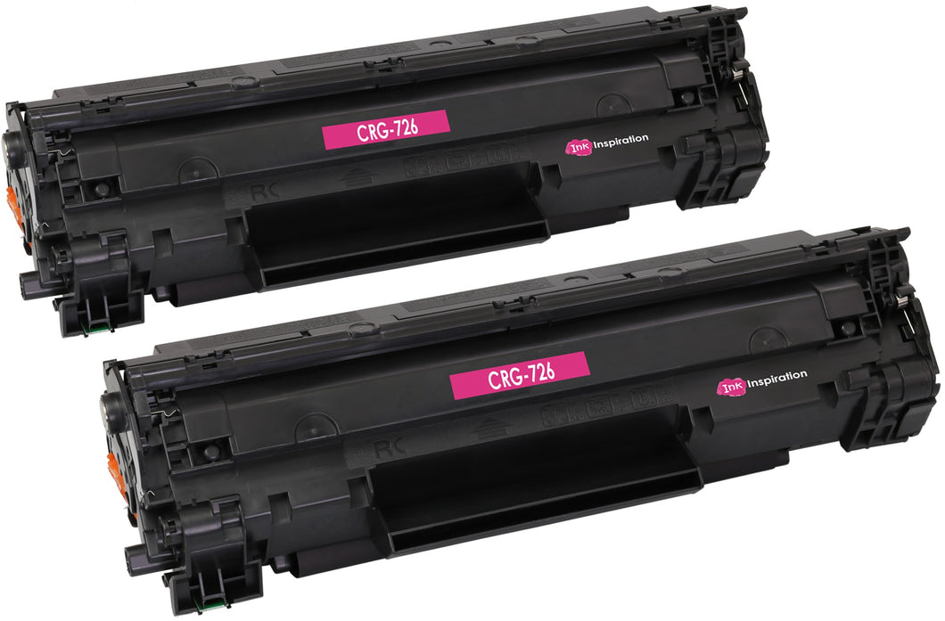 Ink Inspiration 2 Compatible CRG 726 Laser Toner Cartridges for Canon - ink-inspiration