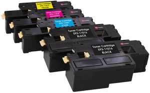 Ink Inspiration 5 (1 SET + 1 BLACK) Compatible Laser Toner Cartridges C17XX for Dell - ink-inspiration