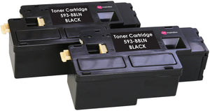 Ink Inspiration 2 BLACK Compatible Laser Toner Cartridges for Dell E525w - ink-inspiration