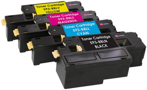 Ink Inspiration Set of 4 Compatible Laser Toner Cartridges for Dell E525w - ink-inspiration