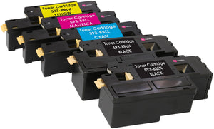 Ink Inspiration 5 (1 SET + 1 BLACK) Compatible Laser Toner Cartridges for Dell E525w - ink-inspiration