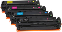 Load image into Gallery viewer, Ink Inspiration Set of 4   Compatible Laser Toner Cartridges for HP Color LaserJet Pro MFP M277dw M277n M274n M252dw M252n | Replacement for HP 201X CF400X 2,800 Pages CF401X CF402X CF403X 2,300 Pages - ink-inspiration