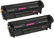 Load image into Gallery viewer, Ink Inspiration 2 Compatible Laser Toner Cartridges for HP Q2612A - ink-inspiration