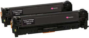 Ink Inspiration 2  Black Compatible Laser Toner Cartridges Replacement for HP 312X CF380X LaserJet Pro Color MFP M476dn, M476dw, M476nw | 4,400 Pages - ink-inspiration