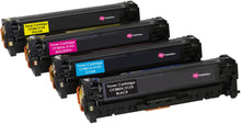 Load image into Gallery viewer, Ink Inspiration Set of 4 Compatible Laser Toner Cartridges for HP LaserJet Pro Color MFP M476dn M476dw M476nw | Replacement for HP 312X CF380X 4,400 Pages 312A CF381A CF382A CF383A 2,700 Pages - ink-inspiration