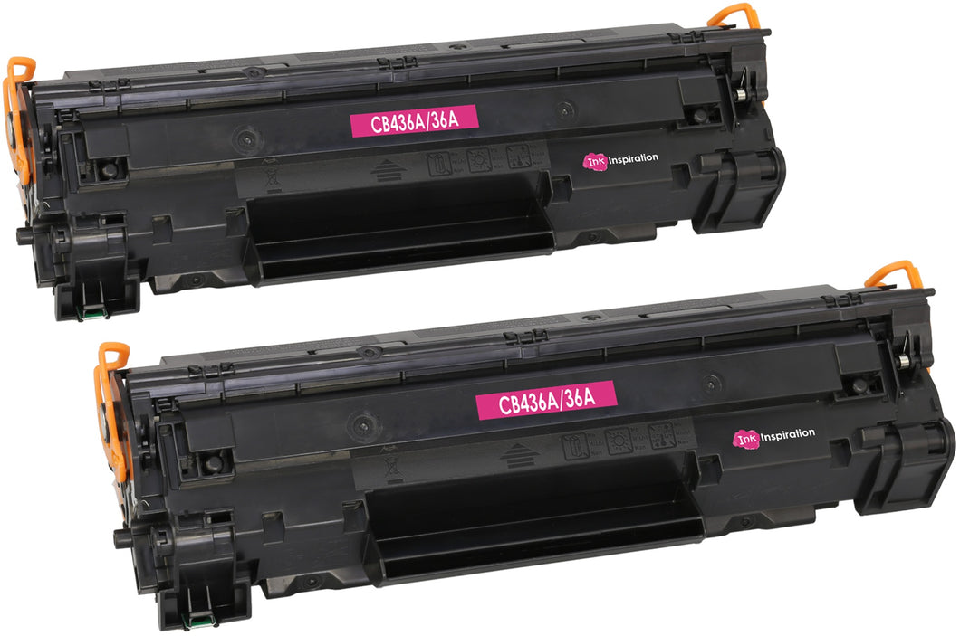 Ink Inspiration 2 Compatible Laser Toner Cartridges Replacement for HP CB436A - ink-inspiration