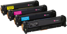 Load image into Gallery viewer, Ink Inspiration Set of 4   Compatible Laser Toner Cartridges for HP 304A CC530-3A Laserjet CP2020 CP2025 CM2320 n/nf/dn/fxi Canon 718 i-SENSYS MF8350Cdn MF8380Cdw MF8330Cdn MF8340Cdn LBP7200Cdn - ink-inspiration
