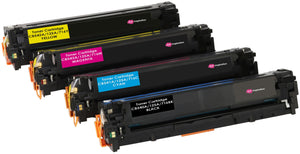 Ink Inspiration Set of 4  Compatible Laser Toner Cartridges for HP Laserjet CM1312 CM1312nfi CP1514n CP1515n CP1518ni | Replacement for HP 125A CB540A 2,200 Pages CB541A CB542A CB543A 1,400 Pages - ink-inspiration